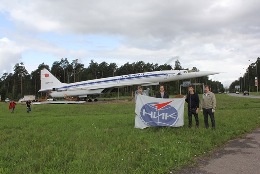 The engineers of NIK Ltd prepared the outerwing panel for the installation on Tu-144