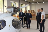 The delegation of the French Embassy in Russian Federation attended NIK site at TsAGI technological cluster