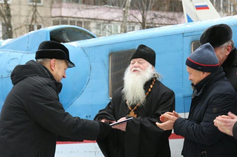 NIK Ltd. takes part in transferring the «Molnia-1» plane to the Church of St.Panteleimon