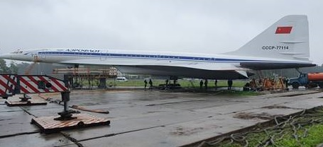 Work on Tu-144 on the 8th of August