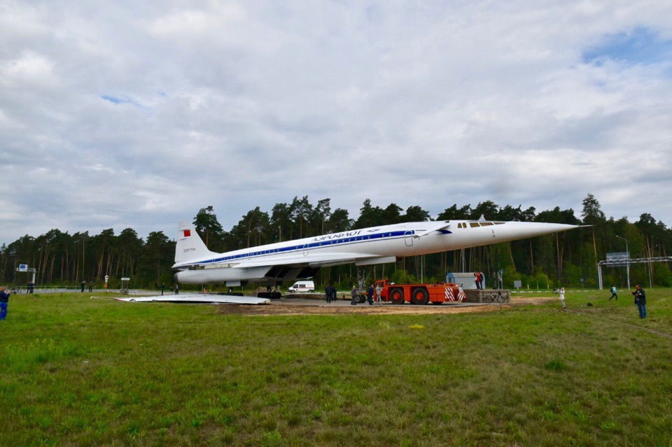 Opening of the monument to the plane Tu-144 will be held on the 24th of August