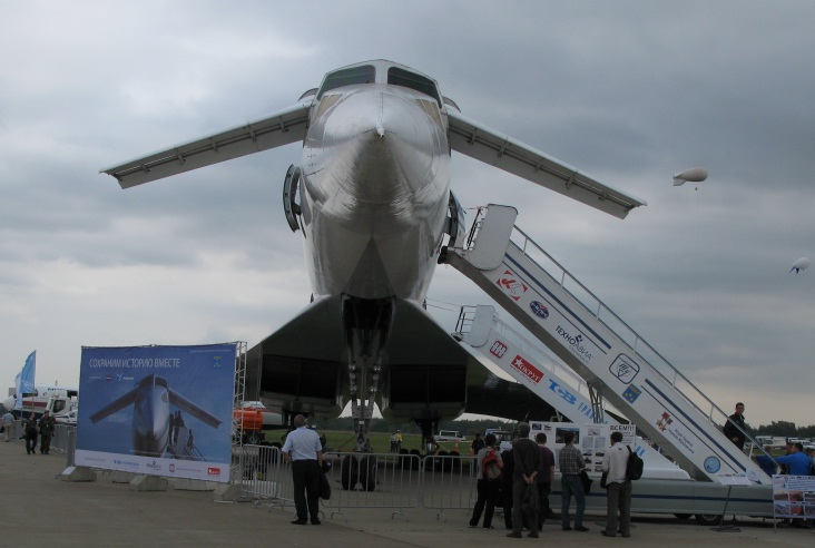 Activities on Installation of Tu-144 №77114 as Symbol of Zhukovsky Continued